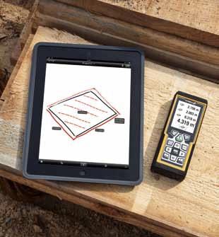 LD520 kết nối bluetooth, đo khoảng cách bằng laser.