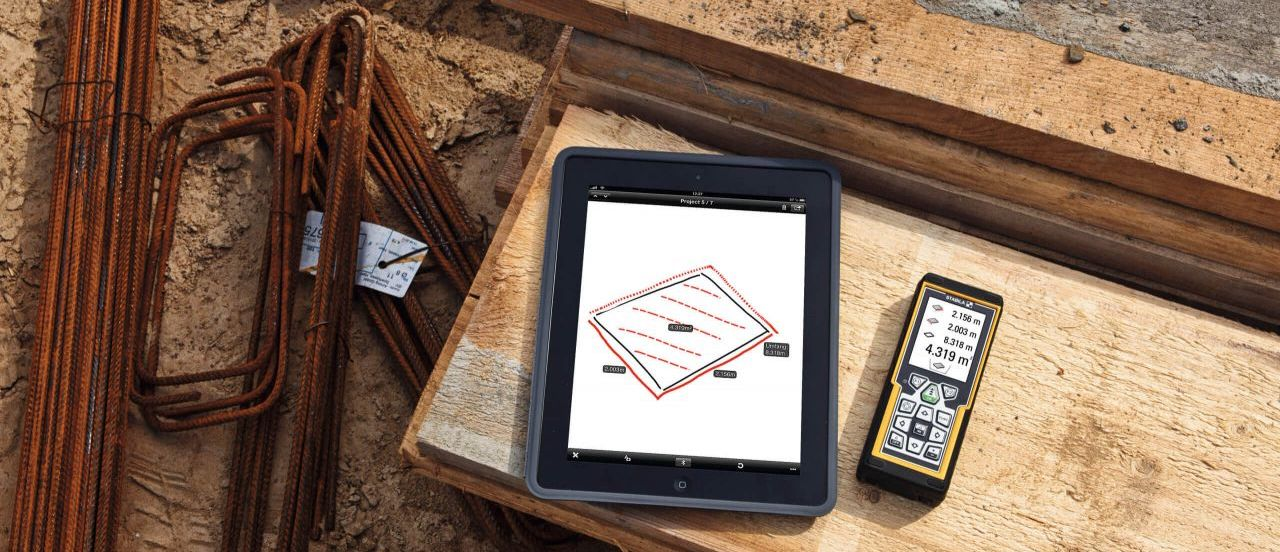 LD520 kết nối máy tính bảng iPad, cho hiển thị lớn hơn, tính toán ngay và vẽ phác thảo.