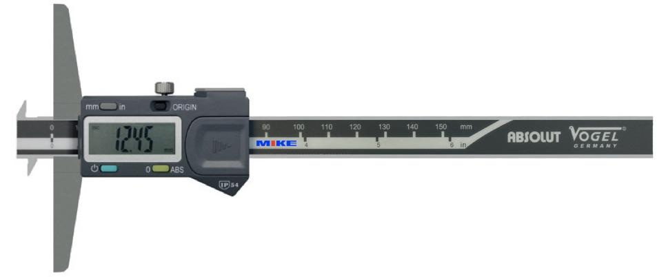 đầu đo type E cho thước cặp đo sâu điện tử Vogel Germany.