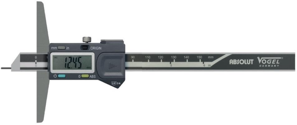 Thước đo sâu điện tử kiểu F. Vogel Germany.