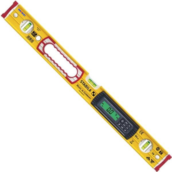 Thước thủy nivo điện tử 1220mm, chống nước mưa, cấp bảo vệ IP65, 2 màn hình.