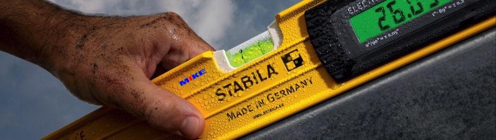 Nivo từ tính điện tử, chống thấm nước IP65. Stabila Germany.