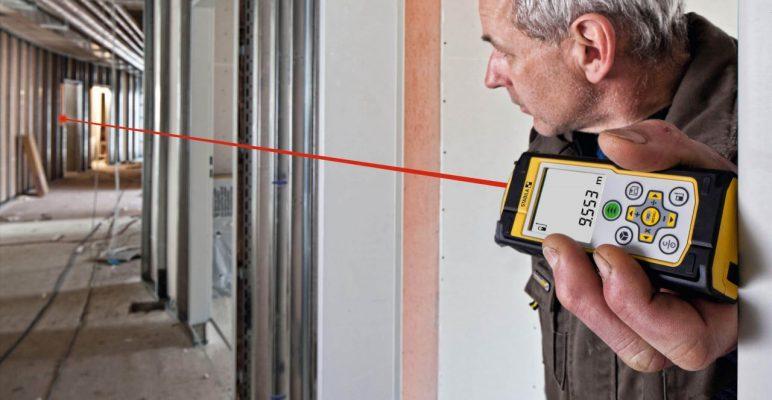 Tính năng đo che khuất một phần của máy LD420 Stabila Germany.