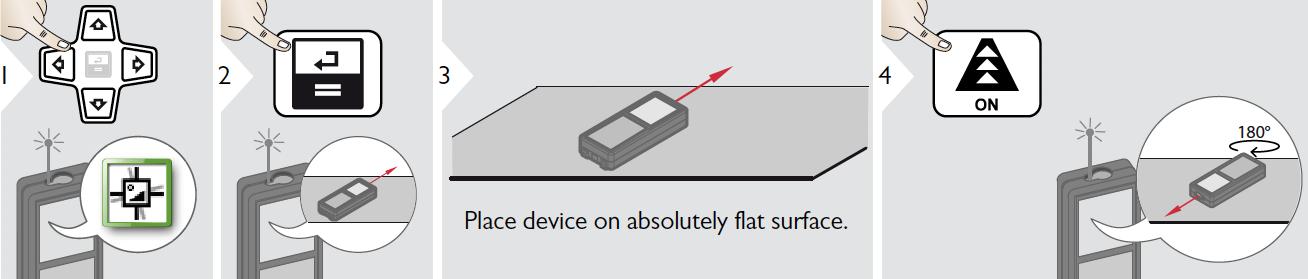 hiệu chuẩn đo nghiêng cho máy LD520