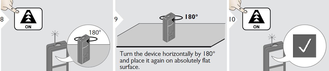 Hiệu chỉnh đo nghiêng của máy LD520
