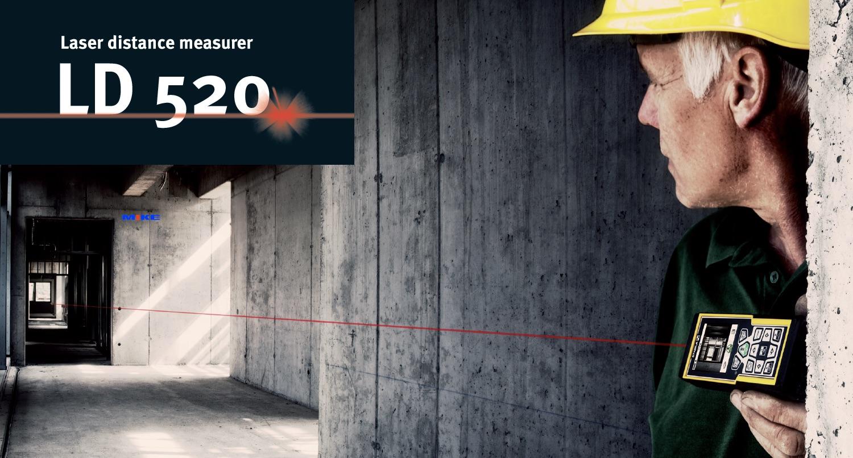 cách sử dụng máy đo khoảng cách bằng laser LD520