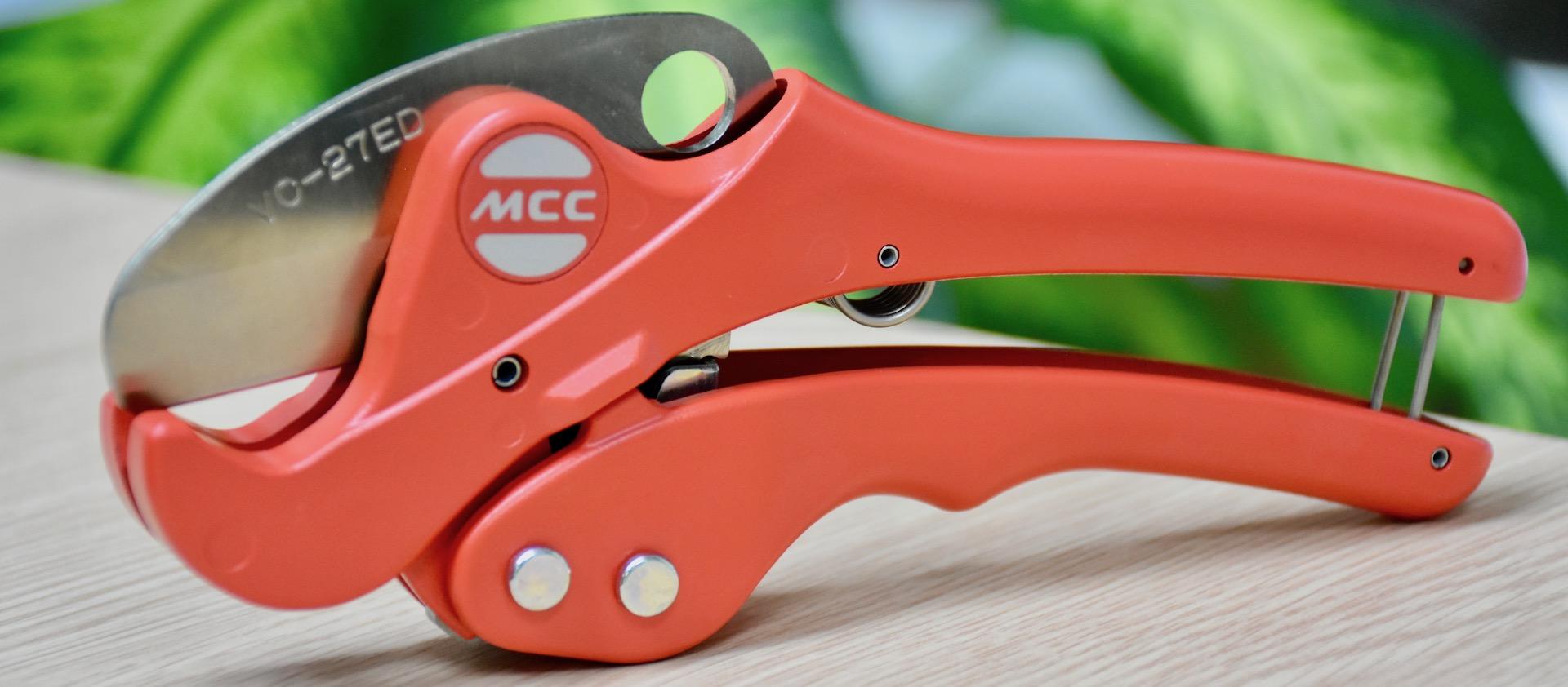 Kéo cắt ống nhựa PVC của MCC Japan
