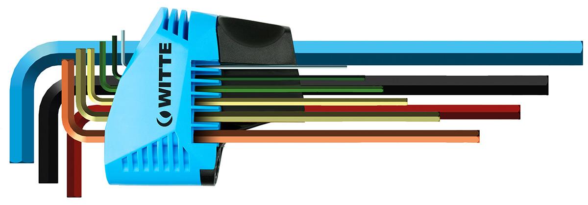 bộ lục giác 7 màu hàng Đức bộ lục giác đầu bằng 9 cây 44450